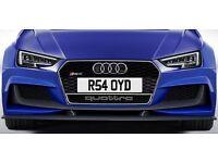 AUDI RS4 R5 R54 OYD Number plate Sayed Saayed Sayid Said Saeed Syed Saed Sahed Saheed Shadid Shahi