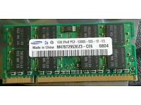 Samsung Laptop Memory 1Gb