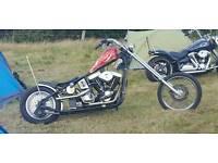 1340 Chop Chopper Custom Hardtail