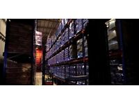 45,000 sq feet of ambient racked storage - within easy access of M1/M62/A1