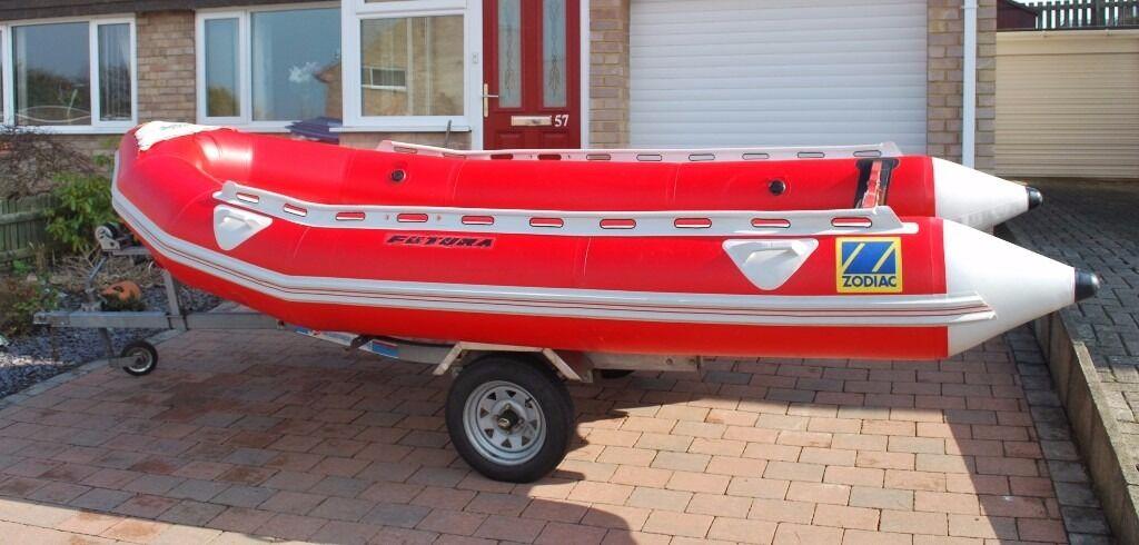 all-for-boats com - Zodiac Futura Fastroller 4 1Meter MK2 with