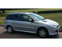 Peugeot 206 SW 1.4 Hdi - £30 tax - great service history - cambelt done - New MOT - recent clutch
