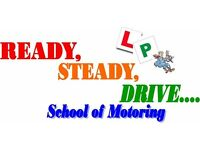 READY ,STEADY ,DRIVE (driving lessons )