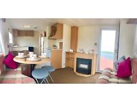 CHEAP 2 BEDROOM 6 BERTH STATIC CARAVAN FOR SALE ON - NORTH EAST COAST- SITE FEES INCLUDED - SEA VIEW