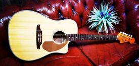 Fender Sonoran SCE Electro Acoustic Guitar