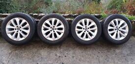 Mk1 Kuga 17 inch alloy wheels -Set of 4. Original Ford Kuga alloys. VGC