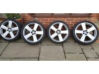Audi Vw Mercedes Skoda alloy wheels x4