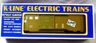 Used, K-LINE 6409 MILWAUKEE ROAD BOXCAR    for sale  Morganton
