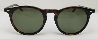 Christopher Cloos Hand Painted Paloma Tortoise Round Sunglasses, (Sunglasses Painting)