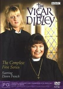 Vicar Of Dibley Series 1 (Dawn French) - DVD (Reg. 4) - NEW & SEALED - Freepost