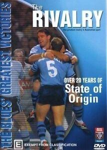 Rivalry-NSW-State-Of-Origin-1980-2003-vs-QLD-DVD