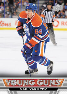 NAIL YAKUPOV .... 2013-14 Upper Deck Young Guns .... ROOKIE CARD