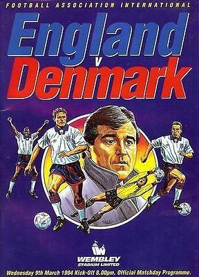 * ENGLAND v DENMARK 1994 *