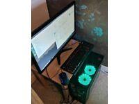 Gaming PC i5 24GB 256GB GTX 960 + 27 Monitor Complete setup / Bundle