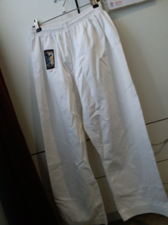 Karate Gi and White Belt. Used
