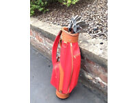 CARNOUSTIE GOLF BAG AND CLUBS