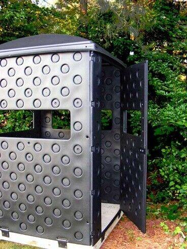NEW Snap Lock Formex 4 x 4 Portable Interlocking Panel Box Deer Hunting Blind