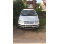 Reliable VW Sharon 1.9TDI 7 seater with MOT