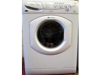 HOTPOINT AQUARIUS WASHING MACHINE - 7KG 1400 SPIN SPEED - WITH WARRANTY - WILL DELIVER