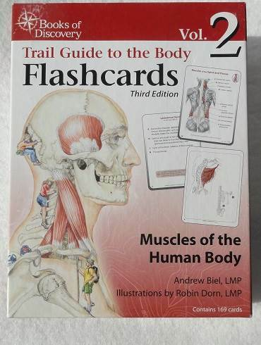 Trail Guide To The Body Flashcards Muscles Of The Human Body Vol