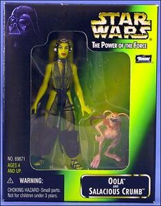 Star Wars Mail In - Power of the Force - Oola & Salacious Crumb