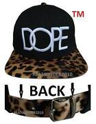 Leopard Snapback