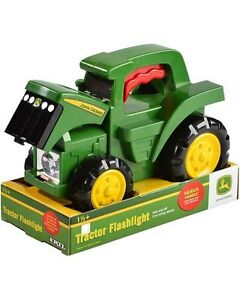 John Deer Truck/Flashlight no box