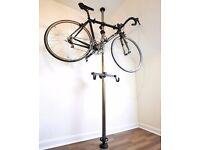 Revolution floor to ceiling bike storage pole stand