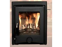 Chelsea inset wood burning stove. Brand new in box