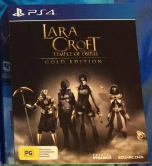SONY PLAYSTATION 4 - LARA CROFT TEMPLE OF OSIRIS GOLD EDITION Colyton Penrith Area Preview