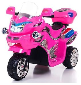 FX 3 Wheel Battery Powered Bike, Pink Girls Electric Scooter 2-5