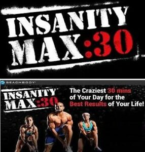 Shaun T's Insanity Max 30 Workout Fitness--DVD INSANITY MAX 30