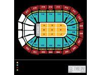 2 x Neil Diamond tickets 1st October Manchester Arena - Block 114 - Amazing Seats