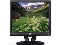 """Dell E173FP 17"""" LCD Monitor with integral stand"""