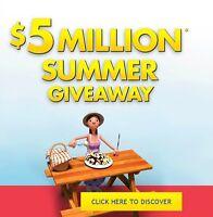 IRVING $5 Million Summer Giveaway