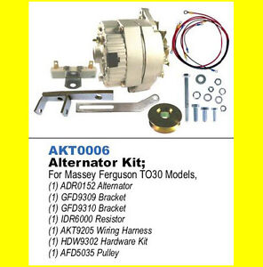 alt conversion kit to 30 ferguson tractor wiring diagrams 1250 ferguson tractor wiring diagram #12