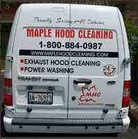 Commercial Kitchen Exhaust Hood System Cleaning