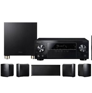 Pioneer HTP-074 5.1 Channel Home Theater Package, Black