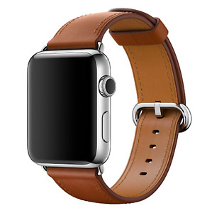 ***BRAND NEW Apple 42mm Saddle Brown Classic Buckle Strap - $250