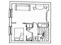 1 bed central Cheltenham apartment, bath road £550/month