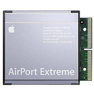 Apple Airport Extreme Card A1026 Network adapter 802.11g M8881LL/A iMac iBook