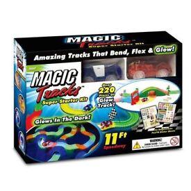 Magic Tracks Super Starter Kit – glows in the dark – brand new
