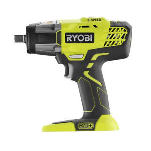 Ryobi P261 One 1 2 Inch Impact Wrench Kit