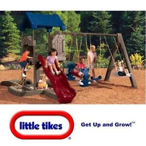 NEW LITTLE TIKES SWING PLAYSET 451S 136357960 ENDLESS ADVENTURES PLAYCENTER PLAYGROUND TREEHOUSE