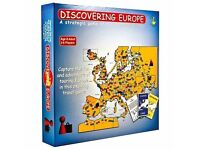 Discovering Europe Board Game: Brand New