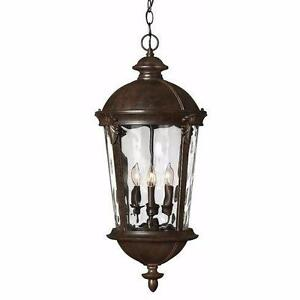 Windsor 4-Light Outdoor Hanging Lantern by Hinkley Lighting NEW
