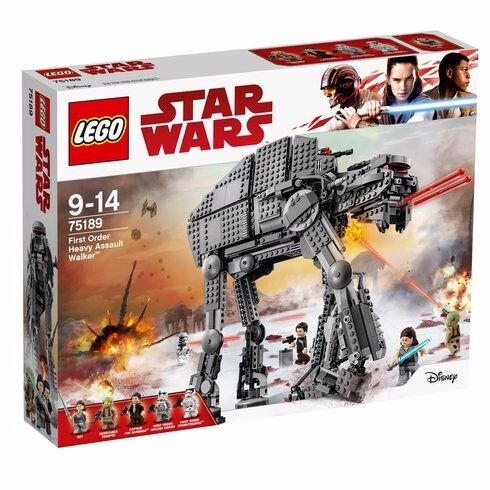 LEGO 75189 Star Wars First Order Heavy Assault Walker