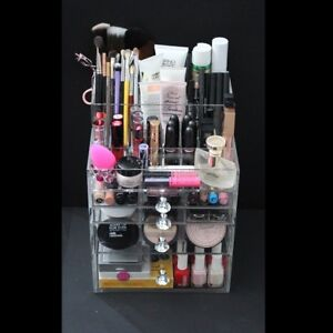 Handmade Acrylic Makeup and Jewelry Organizers - Great Gift!