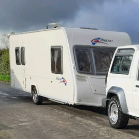 2007 Bailey Pageant Provence Series 6 - 5 Berth Family Layout Touring