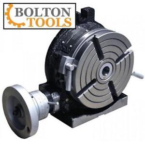 NEW BOLTON TOOLS ROTARY TABLE RT-HV-8 134804261 8 Inch Horizontal  Vertical Rotary Table